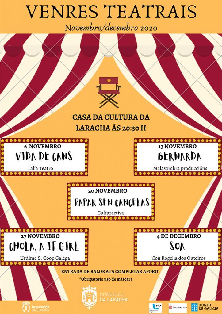 programa teatro en Laracha