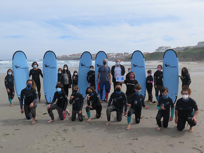 surfing en Caión, A Laracha